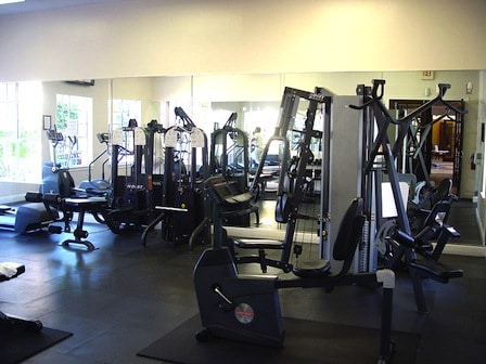 salle de gym de la résidence