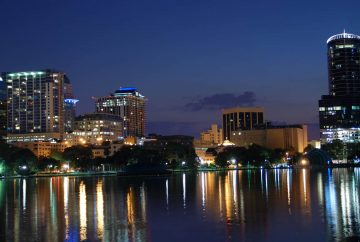 paysage orlando vue de nuit investissement immobilier