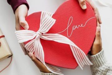 La Saint Valentin aux Etats-Unis avec une boite de chocolats