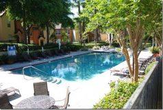 piscine de la residence Azur en floride