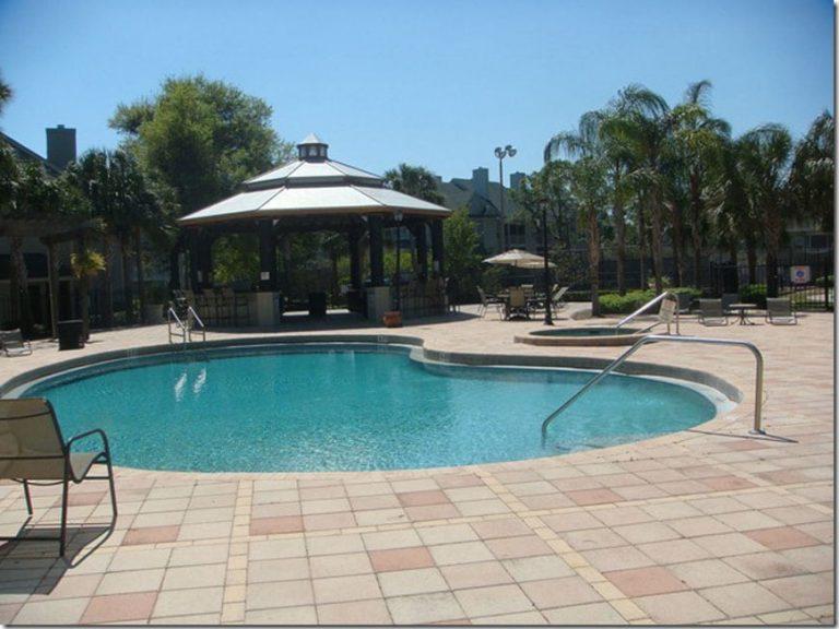 piscine de la residence de condos a orlando