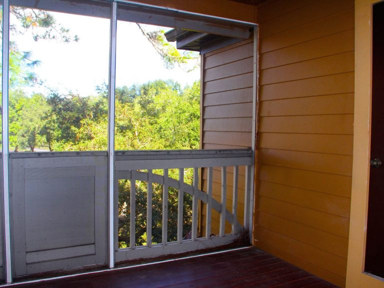 balcon du condo PO1 a vendre a longwood en floride