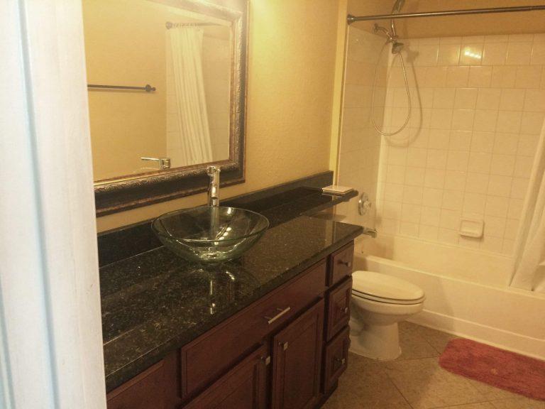salle de bain du condo CPM4 en floride