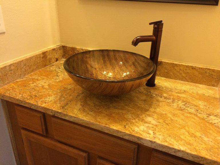 salle de bain d'un condo cs1 en Floride