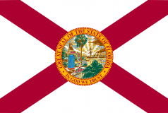 drapeau de l'état de Floride