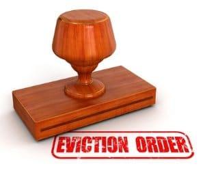 ordre d'eviction d'un locataire aux USA. Une garantie en cas de diversification de patrimoine.