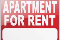 panneau appartement a louer aux usa