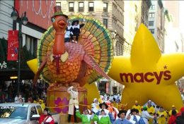 parade de thanksgiving des grands magasins Macy's à New York aux USA