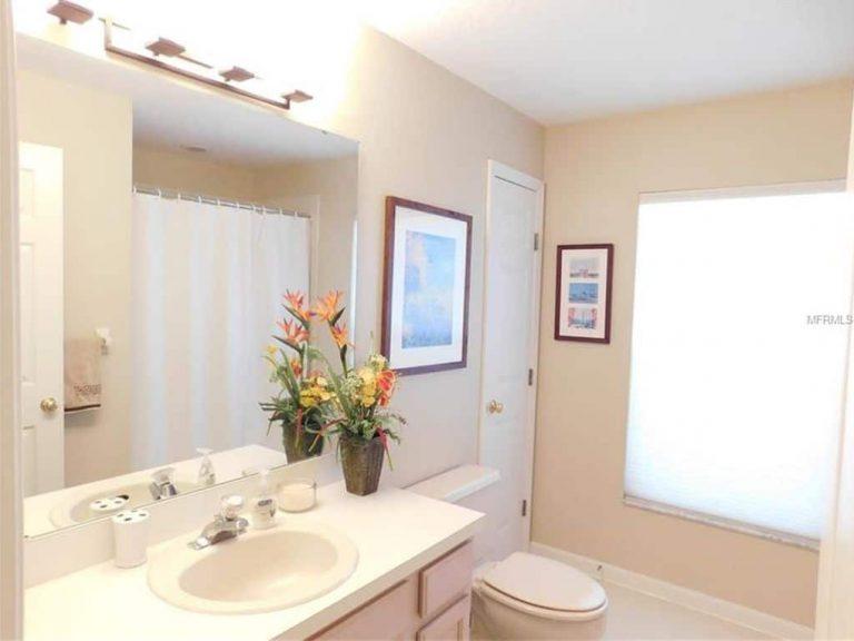 salle de bain simple