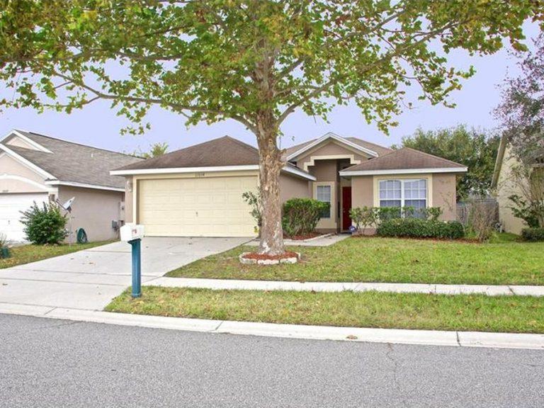 villa typique d'une résidence familiale en Floride