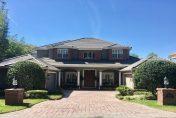 Entrée d'une villa de luxe en Floride