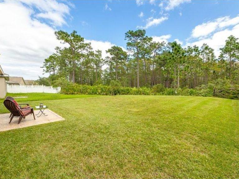 jardin d'une maison en Floride