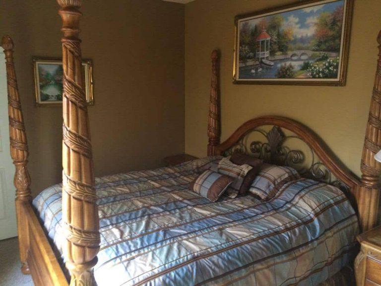chambre d'amis de la villa meublée vm4 à vendre en Floride