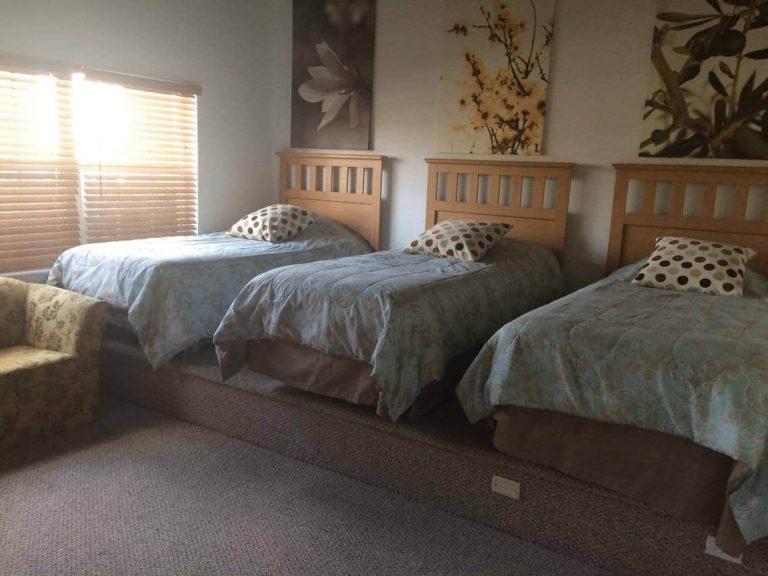 chambre de la villa meublée pour location saisonnière en vente en Floride
