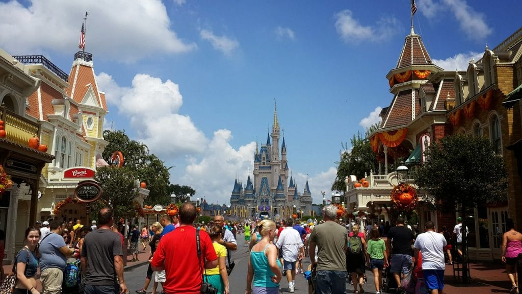 main street usa dans le parc magic kindgom de Disney en Floride