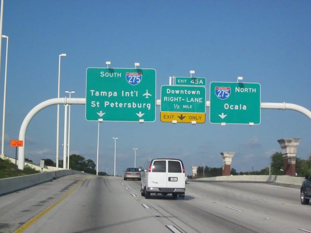 interstate 4 l'autoroute de Floride