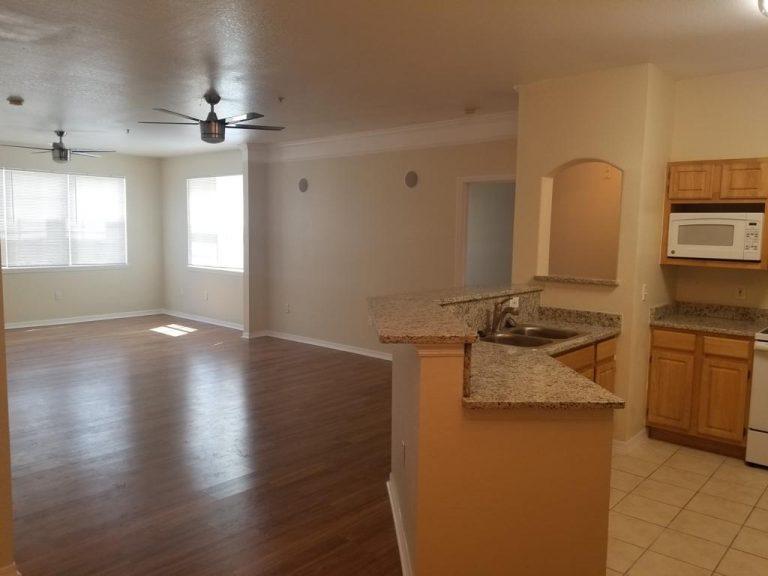 salon et parquet de l'appartement HA2 a vendre en Floride