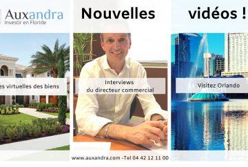 vidéos disponible sur la chaine youtube d'Auxandra