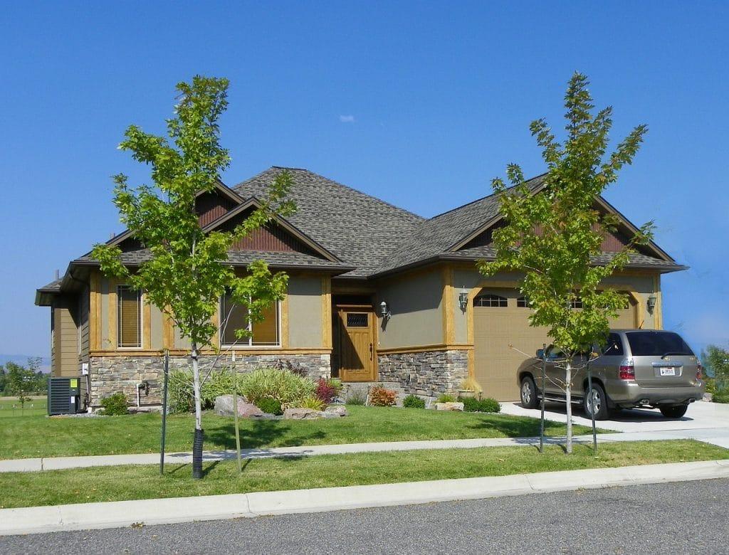 Maison typique du nord des USA.