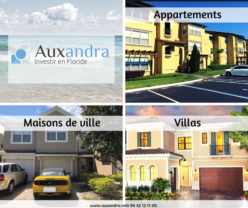 infographie condo, maison ou villa pour investir a orlando