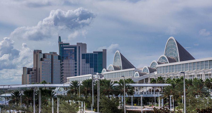 vue d'un quartier d'Orlando en centre ville