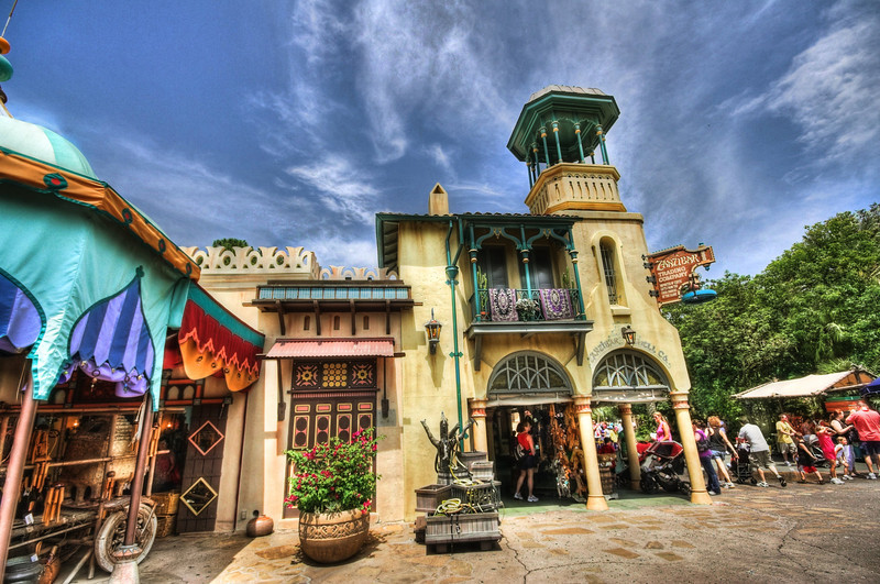 Boutique d'Adventureland à Magic Kingdom en Floride