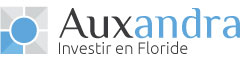 logo investir en floride, societe auxandra specialiste de l'investissement immobilier en Floride