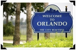 bienvenue à Orlando en Floride (USA)