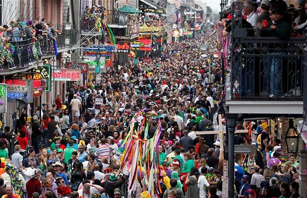 Carnaval de Mardi Gras à la Nouvelle Orléans