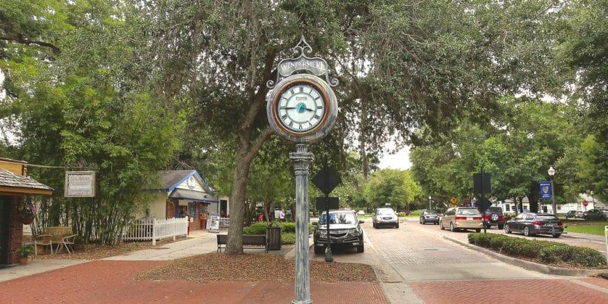 Centre historique de la ville des milliardaires de Windermere à Orlando en Floride