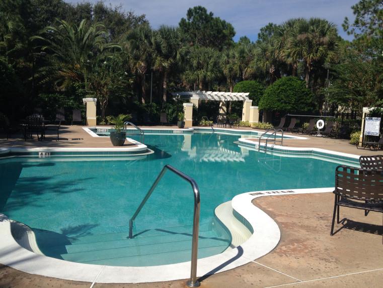 piscine de la residence madison a orlando en floride