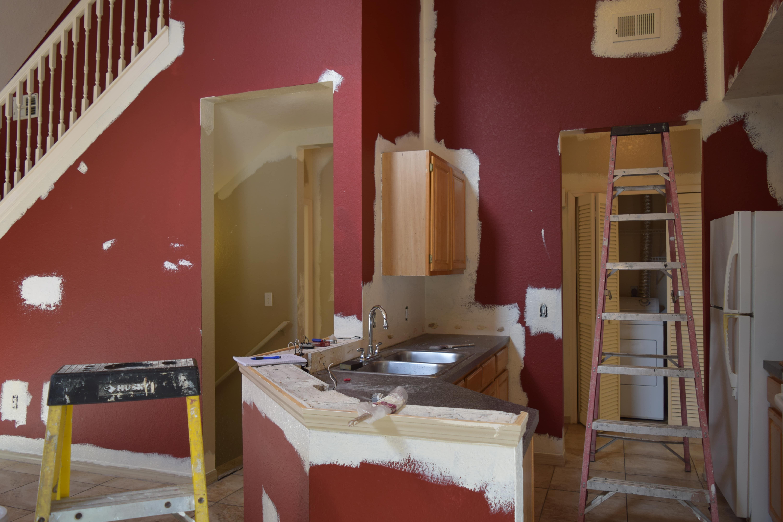 un appartement en cours de rénovation à Orlando en Floride