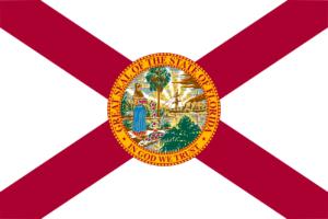 drapeau de la Floride