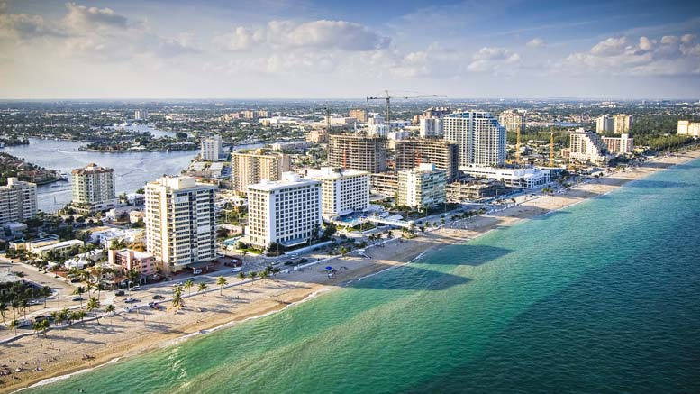 Ville de Fort Lauderdale en Floride