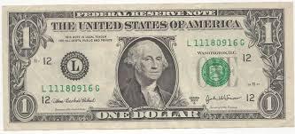 1 dollar américain