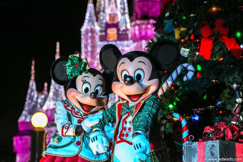 Passez Noël en Floride à Walt Disney World