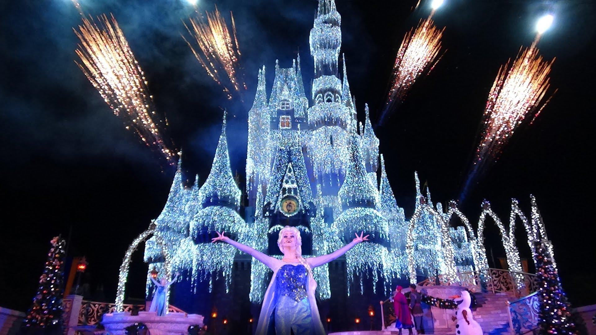 Disney en Floride organise des spectacles pour Noel