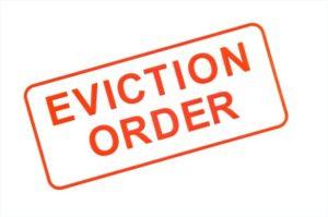 ordre d'expulsion lorsqu'un locataire ne paye pas son loyer aux USA