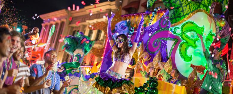Parade de Mardi Gras à Orlando en Floride