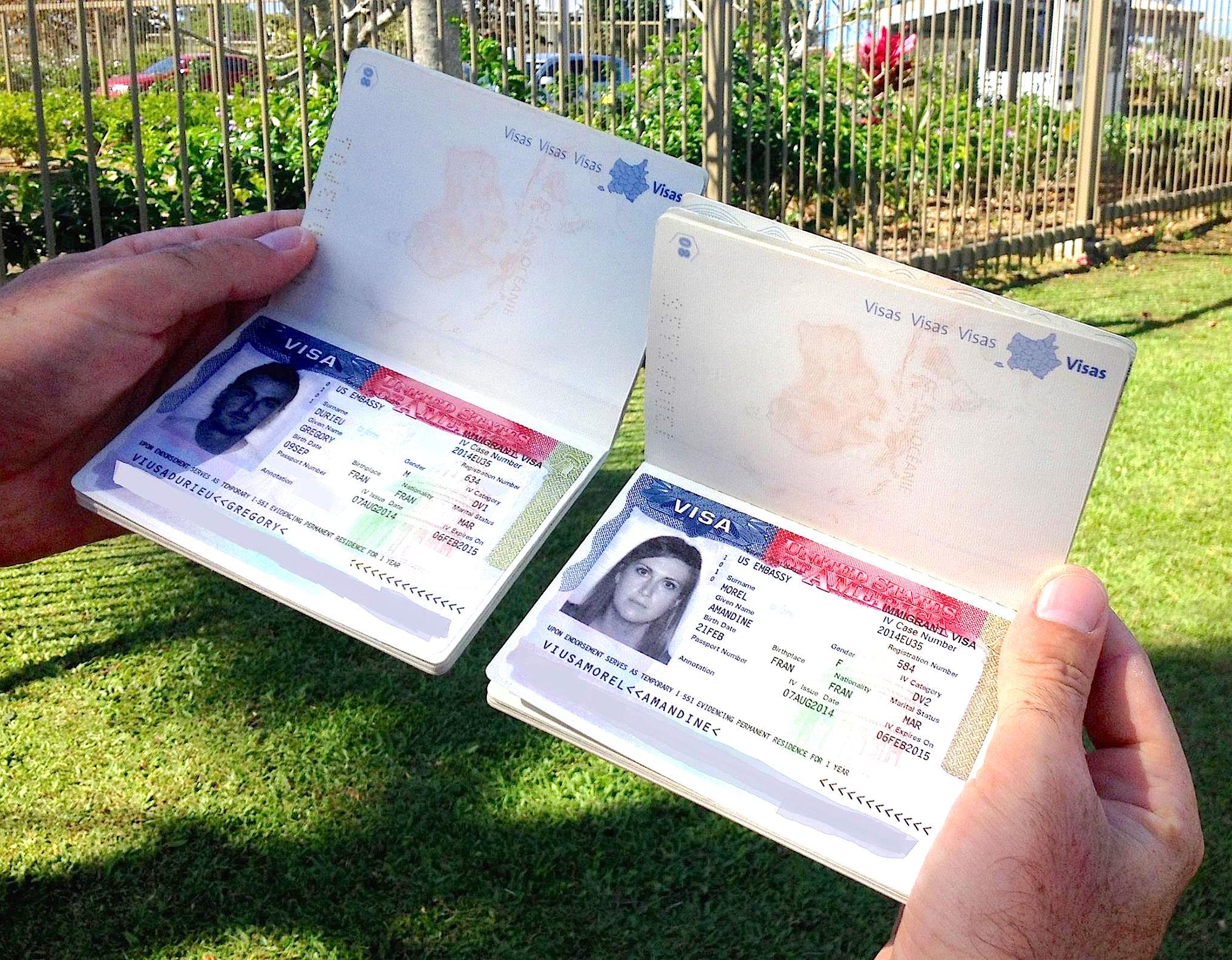 visas d'expatriés aux USA